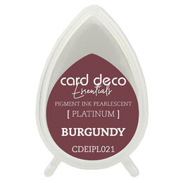 Couture Creations Card Deco Essentials Fast-Drying Pigment Ink Pearlescent - Burgundy CDEIPL021