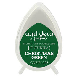 Couture Creations Card Deco Essentials Fast-Drying Pigment Ink Pearlescent - Christmas Green CDEIPL023