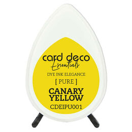 Couture Creations Card Deco Essentials Fade-Resistant Dye Ink - Canary Yellow CDEIPU001