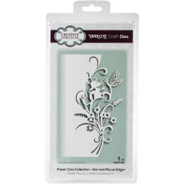 Creative Expressions Paper Cuts Edger Craft Dies - Harvest Mouse CEDP1097