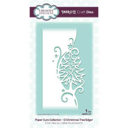 Creative Expressions Paper Cuts Edger Craft Dies - O Christmas Tree