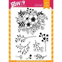 WPlus9 Design stamps - Botanical Bunch - CL-WP9BBU