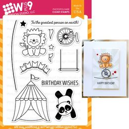 WPlus9 Design Stamps - Big Deal Additions CL-WP9BDA