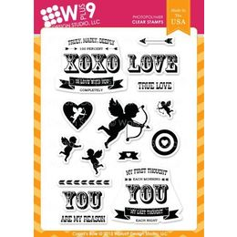 WPlus9 Design stamps - Cupid's Arrow CL-WP9CAR