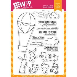 WPlus9 Design Stamps - Going Places CL-WP9GO