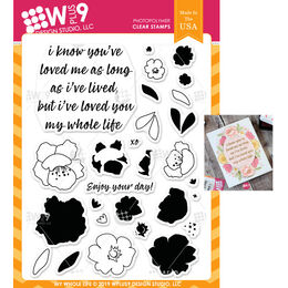 WPlus9 Design Stamps - My Whole Life CL-WP9MWL