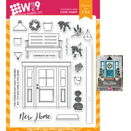 WPlus9 Design Stamps - New Home CL-WP9NH