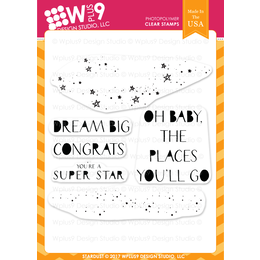 WPlus9 Design Stamps - Stardust CL-WP9SD