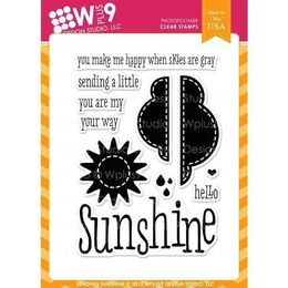 WPlus9 Design Stamps - Sending Sunshine - CL-WP9SSU