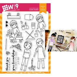 WPlus9 Design Stamps - The Crew: Garden Club CL-WP9TCGC