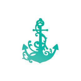 Couture Creations Dies - Sea Breeze Collection - Anchored Flourish CO724698