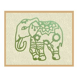 Couture Creations Dies - Wild & Free Collection - Elephant Henna CO724813