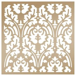 Anna Griffin Couture Creations - Arabesque Stencil - Botanical Damask CO724884