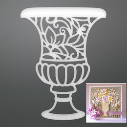 Couture Creations Dies - Enchanted Tea Party - Enchanted Vase CO725048