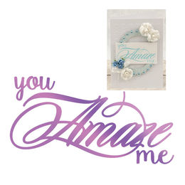 Couture Creations - Everyday Sentiments Collection Hotfoil Stamps - Amaze Me CO725834