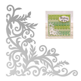Couture Creations Dies - Le Petit Jardin Collection - Midday Corner Decorative (1pc) CO725943
