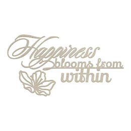 Couture Creations Chipboard - LPJ Collection - Happiness from Within Set (3pc)  CO725954