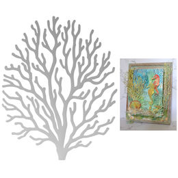 Couture Creations Dies - Seaside & Me Collection - Branching Coral (1pc)CO726172
