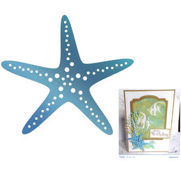 Couture Creations - Seaside & Me Collection Hot Foil Stamps - Starfish (1pc) CO726178