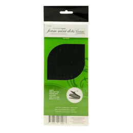 Couture Creations Adhesive - 3D Foam - Black Mini Dots (360 pcs) CO726429