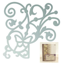 Couture Creations Mini Dies - Butterfly Garden - Butterfly Corner (approx. 48x48mm) CO726549