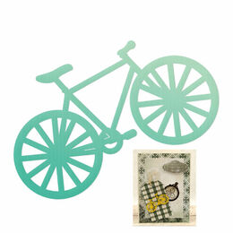 Couture Creations Mini Dies - Gentleman's Emporium - Vintage Bike (1pc)