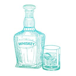 Couture Creations Mini Stamp - Gentleman's Emporium - Whiskey (1pc)