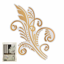 Couture Creations Gentlemans Emp Cut, Foil and Emboss - Art Deco Flourish (1pc)