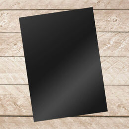 Couture Creations A4 BLACK Adhesive Vinyl 10 sheets per pack