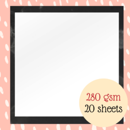 Couture Creations Photographic Alpine White Smooth 12x12 in - 280gsm (20pk)