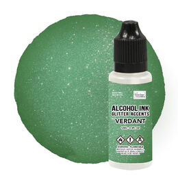 Couture Creations A Ink Glitter Accents - Verdant - 12mL | 0.4fl oz