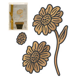 Couture Creations Cut and Create Die - Vintage Flowers - Standing Daisies (3pc)