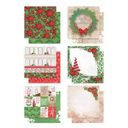 Couture Creations Paper Pack (12x12) - Merry Little Christmas (12 sheets 6 designs) 304.8x304.8mm