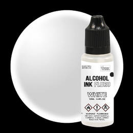 Couture Creations Alcohol Ink Fluro - White (12ml)