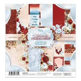 Couture Creations Paper Pad - Blooming Friendship 6.5x6.5 (24 sheets)