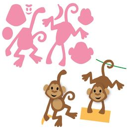 Marianne Design - Collectables Dies - Eline's Monkey COL1399