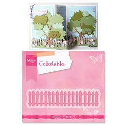 Marianne Design - Collectables Dies - White Picket Fence COL1423