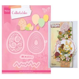 Marianne Design - Collectables Dies - Easter Eggs & Balloons COL1425