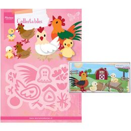 Marianne Design - Collectables Dies - Eline's Chicken Family COL1429