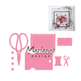 Marianne Design - Collectables Dies - Eline's Craft Dates COL1445