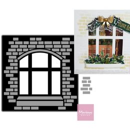 Marianne Design - Craftables Dies - Card with A View (Window) CR1389