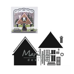 Marianne Design - Craftables Dies - Build-a-House CR1437
