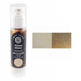 Creative Expressions Pearlescent Airless Mister 50ml - Gold Rush