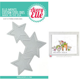 Avery Elle Elle-Ments Dies - Three Stars D0714