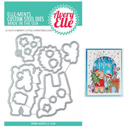 Avery Elle Elle-Ments Dies - A Merry Little Christmas D1831