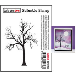 Darkroom Door Eclectic Stamp - Bare Tree DDES035