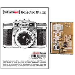 Darkroom Door Eclectic Stamp - Camera DDES038