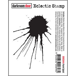 Darkroom Door Eclectic Stamp - Paint Splat DDES044