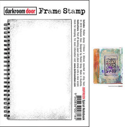 Darkroom Door Frame Stamp - Spiral Notebook DDFR029