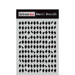 Darkroom Door Small Stencil - Diamonds DDSS024